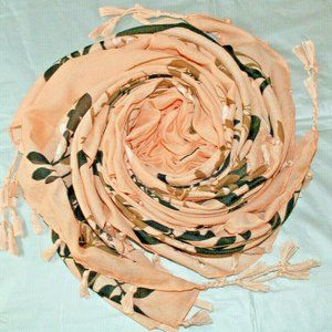 Tasseled Women's Soft Scarf Size-44x44 inches